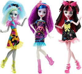 Кукла Monster High Drakulaura Silvi,DVH65, 1 шт.