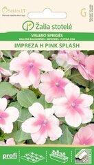 Vallera balzamīne Impreza H Pink Splash cena un informācija | Puķu sēklas | 220.lv