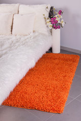 Ковёр Shaggy Orange, 80 x 150 см цена и информация | Ковёр Shaggy Orange, 80 x 150 см | 220.lv