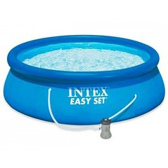 Baseins Intex Easy Set 396x84 cm, ar filtru cena un informācija | Baseini | 220.lv