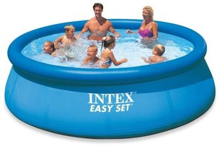 Peldbaseins Intex Easy Set 396 x 84 cm ar filtru