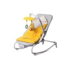 Bērnu šūpuļkrēsls KinderKraft Felio, dzeltens
