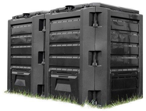Komposta kaste IKLM-800C cena un informācija | Komposta kastes un āra konteineri | 220.lv