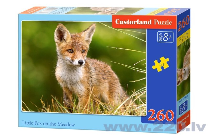 Пазл Castorland Little Fox On The Meadow 260 дет.