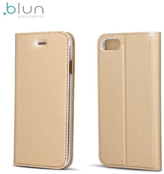 Чехол-книжка Blun Premium Matt для Samsung Galaxy S6 Edge (G925F) Золотистый