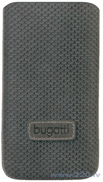Чехол для телефона  Bugatti PERFECT SCALE Apple iPhone 4, cерый