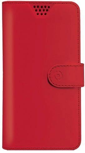 Чехол-книжка Celly WALLY ONE универсальный , красный