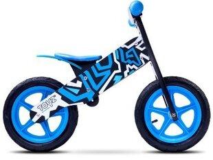 Balansa velosipēds Caretero ZAP, melns/zils cena un informācija | Velosipēdi | 220.lv