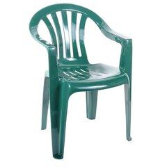 Plastmasas krēsls Cirkon, zaļš