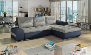 Mīksts stūra dīvāns Ottavio cena un informācija | Dīvāni un krēsli | 220.lv