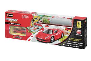 Spēles paklājiņš ar mašīnu Bburago Ferrari cena un informācija | Mašīnas, vilcieni, trases, lidmašīnas | 220.lv