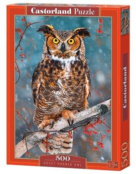 Пазл Castorland Great Horned Owl, 500 дет.