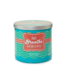 Aromātiskā svece Yankee Candle Sentiments Just Breathe Candle, 284 g