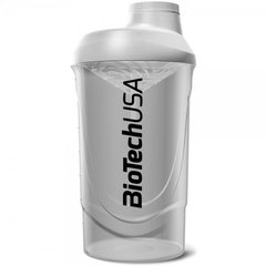 Šeikeris Biotech Shaker Wave 600 ml (balts)