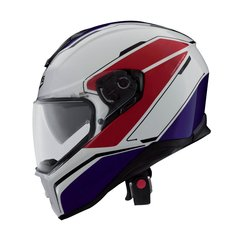 Ķivere Caberg DRIFT TOUR WHITE/RED/BLUE