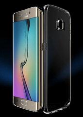 Aizmugures apvalks Just Must Nake priekš Samsung Galaxy S7 Edge G935, Caurspīdīgs cena un informācija | Maciņi, somiņas | 220.lv