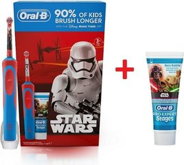 ORAL-B Kids Star Wars + Zobu pasta