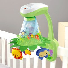 Karuselis- projektors Fisher-Price Rainforest™ Grow-with-Me