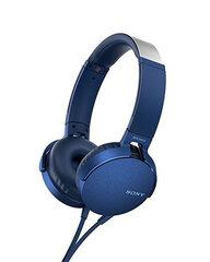 Sony MDRXB550APL Head-band, Microphone, Blue cena un informācija | Austiņas | 220.lv