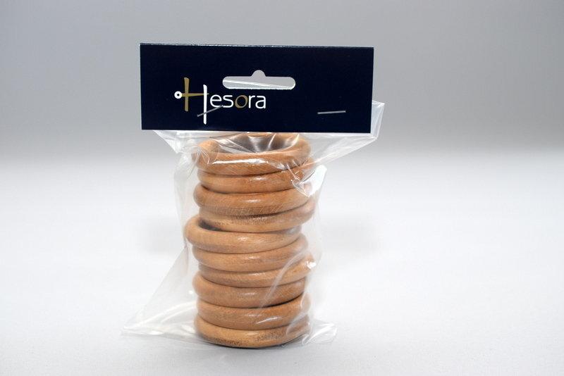 "Koka gredzeni ""BERGAMO"" Ø28 mm, 10 gab; cena"