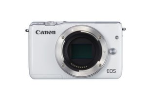 Canon EOS M10 white (balts)