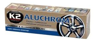 Alumīnija un hroma pulēšana pasta K2 Aluchrom cena un informācija | Alumīnija un hroma pulēšana pasta K2 Aluchrom | 220.lv