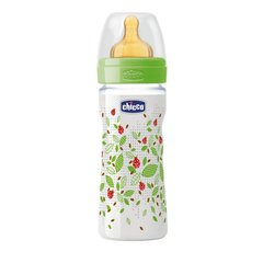 Pudelīte Chicco Well-Being 250 ml, 2 mēn., Green