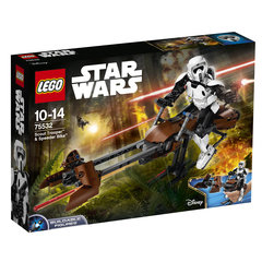 75532 LEGO® Star Wars Scout Trooper™ & Speeder Bike™