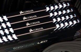 Corsair Vengeance LED 16GB 2666MHz DDR4 CL16 White KIT OF 2 CMU16GX4M2A2666C16 cena un informācija | Corsair Vengeance LED 16GB 2666MHz DDR4 CL16 White KIT OF 2 CMU16GX4M2A2666C16 | 220.lv