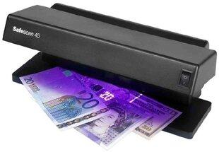 Valūtas pārbaudes ierīce SAFESCAN 45 UV cena un informācija | Valūtas detektori | 220.lv