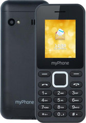 MyPhone 3310 Dual ENG, Melns