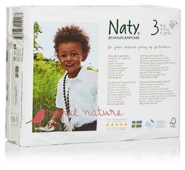 Ekoloģiskās autiņbiksītes Nature Babycare 3 Midi, 4-9 kg, 31 gab. cena un informācija | Autiņbiksītes un aksesuāri | 220.lv