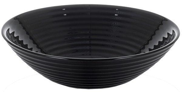 Melna bļoda Luminarc, HARENA BLACK, 16 cm