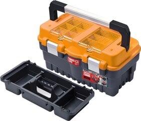 Instrumentu kaste Patrol Formula S500 Carbo oranža   cena un informācija | Instrumentu kastes | 220.lv