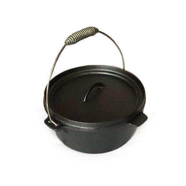 """Čuguna katls ar vāku """"Dutch Oven"""" (25 cm diametrā), 5l"""