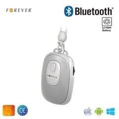 Forever BS-110 Bezvadu Bluetooth Ceļojumu Skaļrunis ar Selfie Foto pogu un silikona siksniņu Balts cena un informācija | Portatīvie skaļruņi, audio atskaņotāji un austiņas | 220.lv