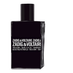 Tualetes ūdens Zadig & Voltaire This is Him! EDT 100 ml cena un informācija | Tualetes ūdens Zadig & Voltaire This is Him! EDT 100 ml | 220.lv