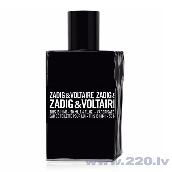 Tualetes ūdens Zadig & Voltaire This is Him! EDT 30 ml