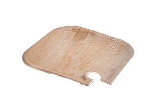 Vienreizlietojamie šķīvji no palmu lapām EHSAASHOME 21 cm, 10 gab. cena un informācija | Vienreizējie trauki | 220.lv