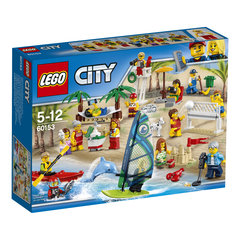60153 LEGO® City People Pack Fun at the Beach люди на пляже
