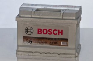 Akumulators Bosch 63Ah 610A S5005