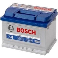 Bosch S4 004 Silver (60A/h)
