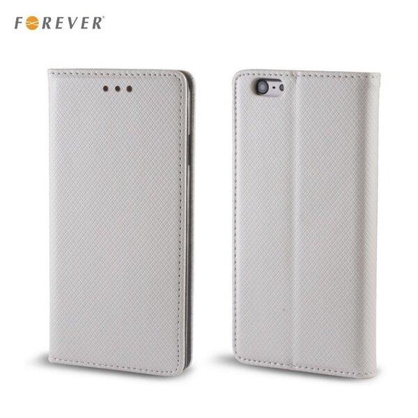 Чехол - книжка Forever Smart Magnetic Fix Book Case для Samsung A520F Galaxy A5 (2017), Серебристый
