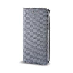 Sāniski atverams maciņš Mocco Smart Magnet Book priekš Huawei P8 Lite/P9 Lite (2017), Pelēka
