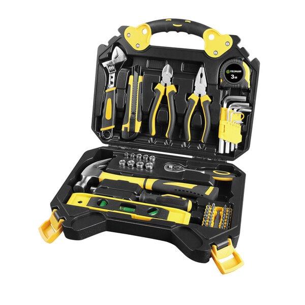 Dažādas instrumentu komplekts Fieldmann TDA 5006-60R, 60 daļas   cena un informācija | Instrumenti | 220.lv