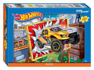 "Puzzle ""Hot wheels"", Step puzzle, 104 daļas"