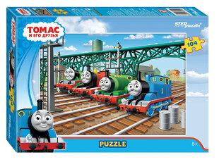 "Puzle Step Puzzle ""Tomas un viņa draugi"" 104 d. cena un informācija | Puzle Step Puzzle ""Tomas un viņa draugi"" 104 d. | 220.lv"