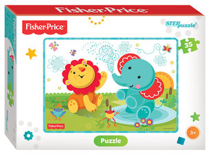 "Пазл ""Fisher Price"", Step puzzle, 35 части цена и информация 