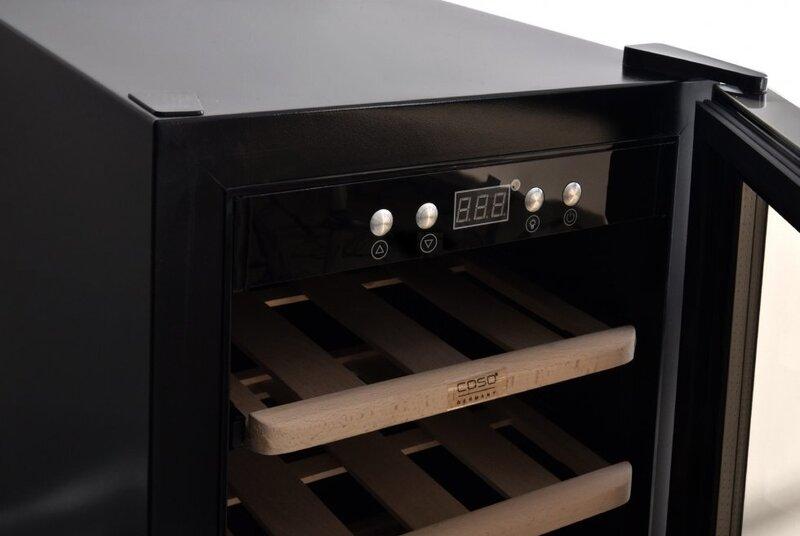 Caso WineSafe 12 Black (melns)
