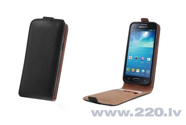Samsung Galaxy A3 maciņš PLUS Forever melns